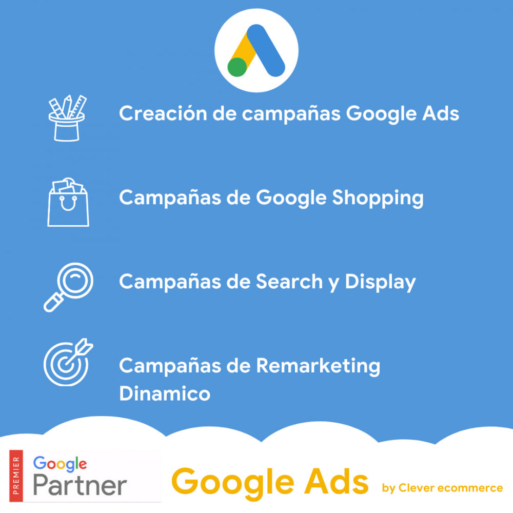 module - SEM SEA - Posicionamiento patrocinado & Afiliación - Ads on Google (Google Shopping + Dynamic Remarketing) - 1