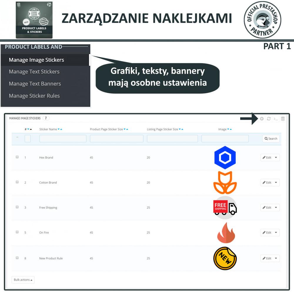 module - Odznaki & Logo - Etykiety i Naklejki na Produkty - 7