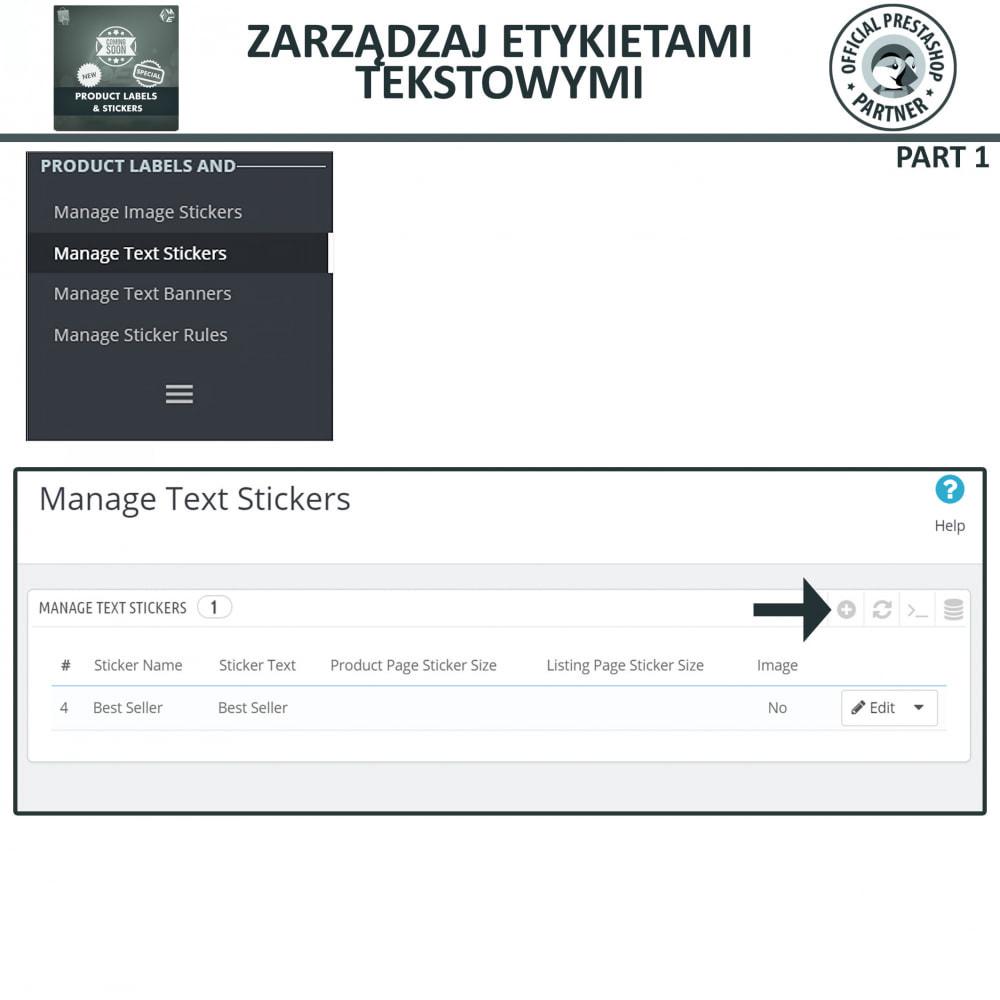 module - Odznaki & Logo - Etykiety i Naklejki na Produkty - 9