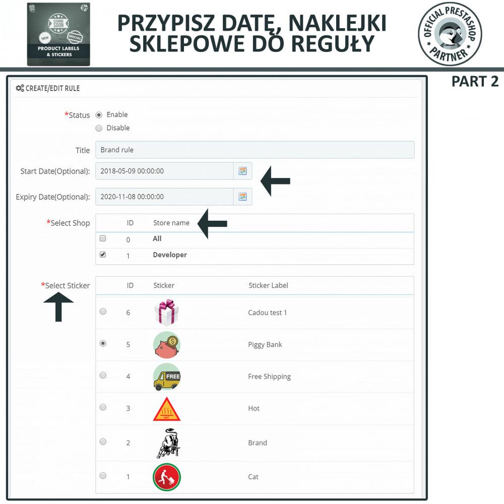 module - Odznaki & Logo - Etykiety i Naklejki na Produkty - 13