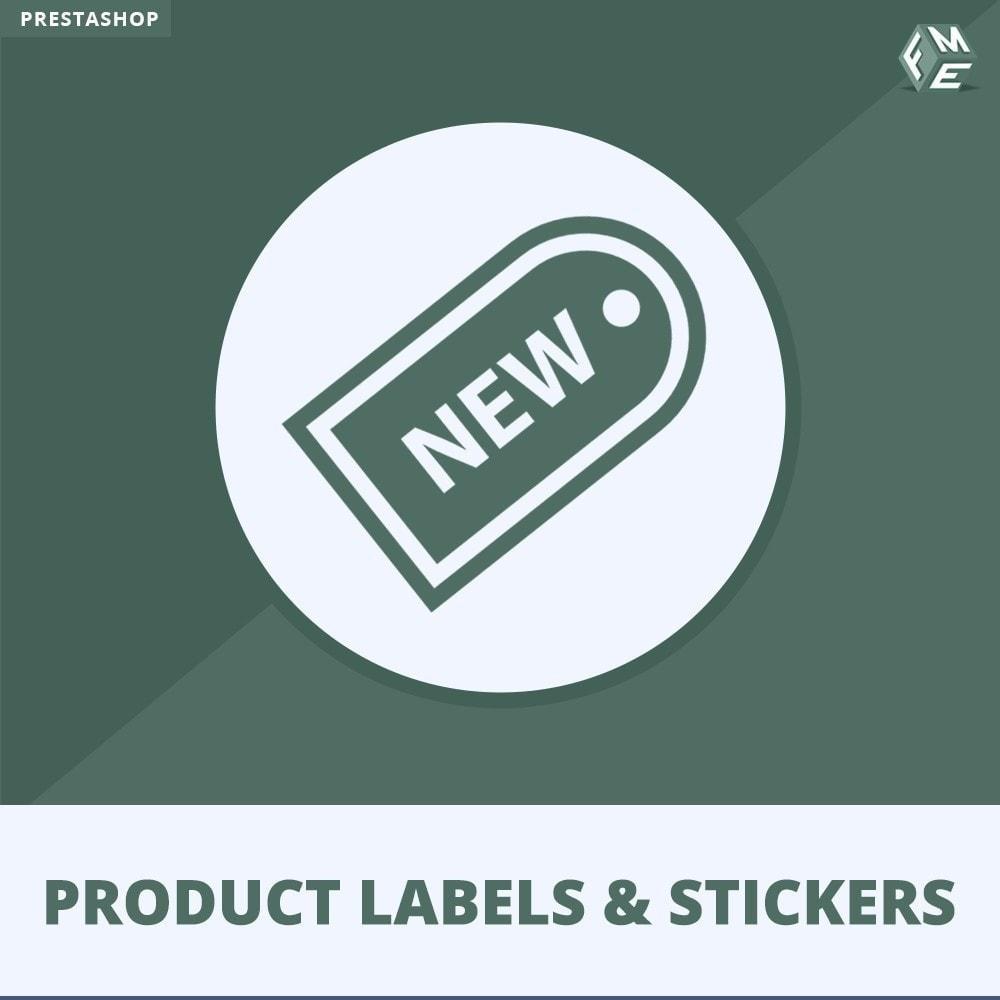 module - Бейджи и Логотипы - Лейблы и Стикеры продукта - 1