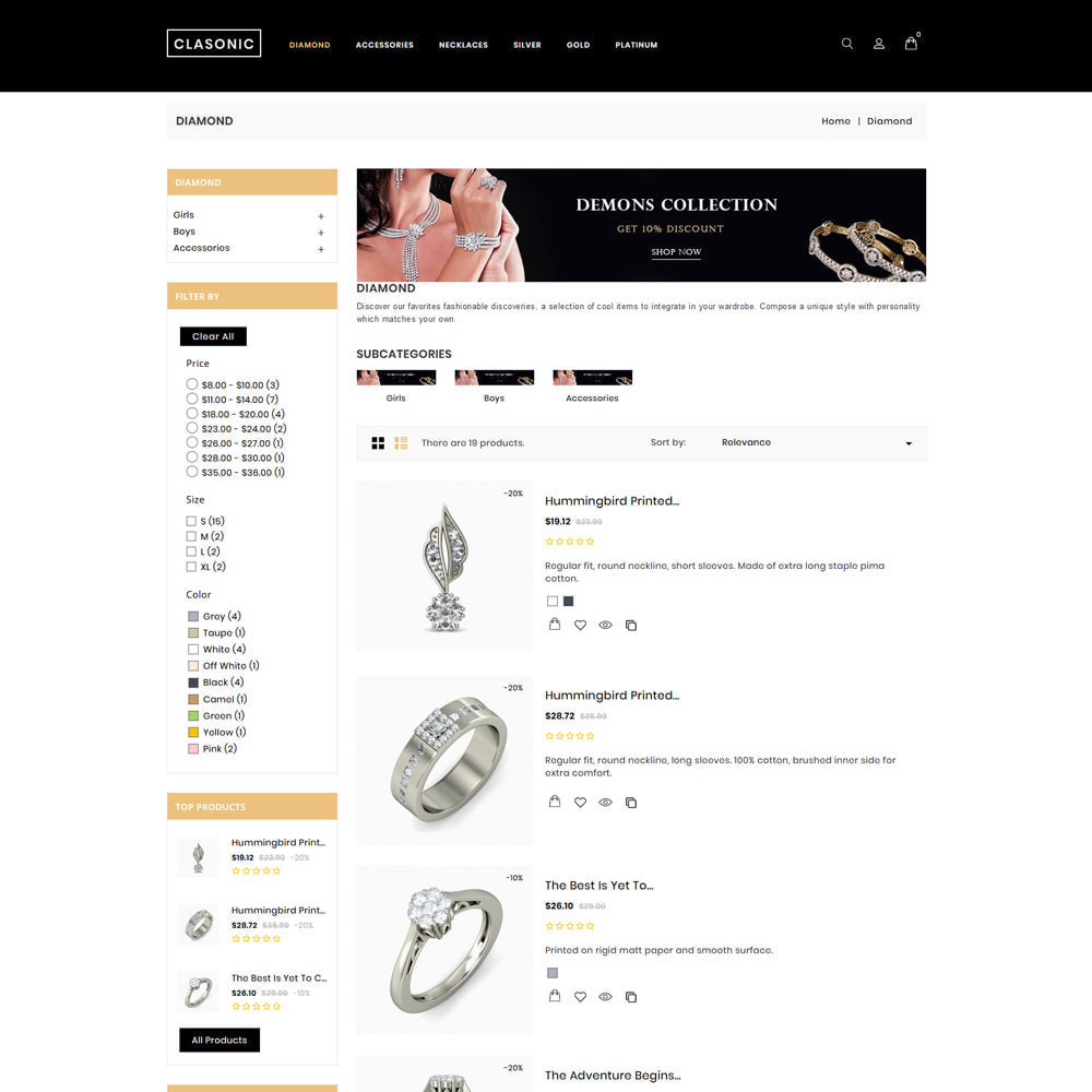 theme - Sieraden & Accessoires - Classoni Store - 5