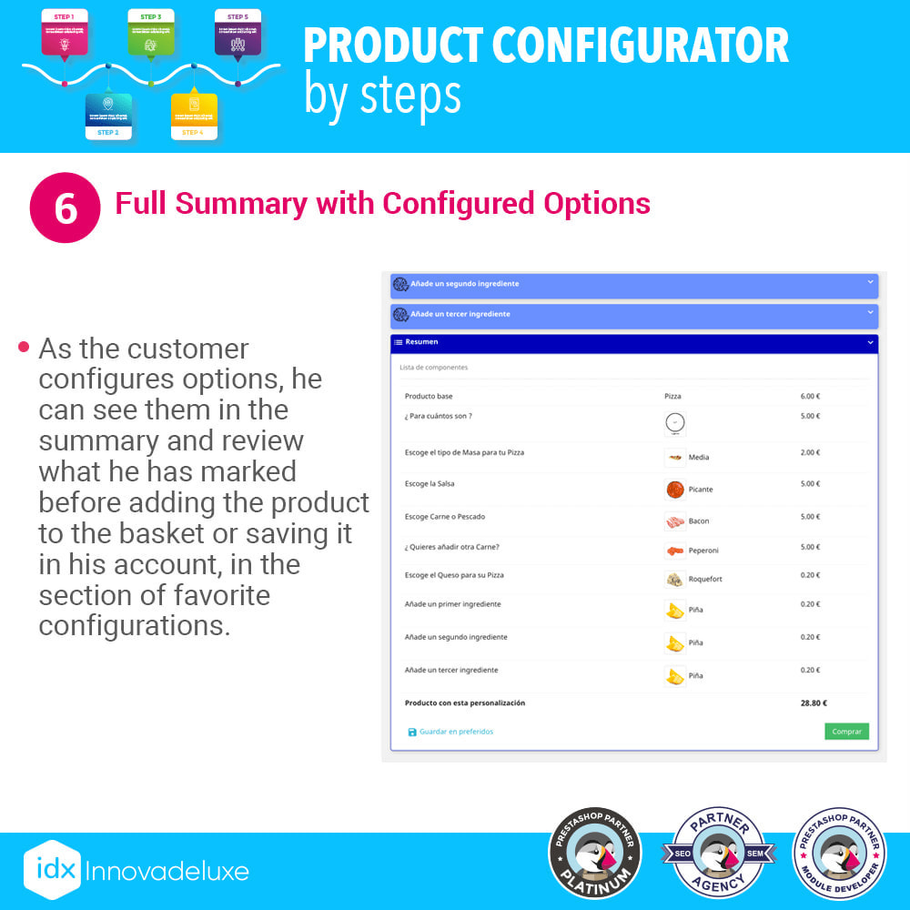 module - Combinations & Product Customization - Advanced product configurator by steps - 7