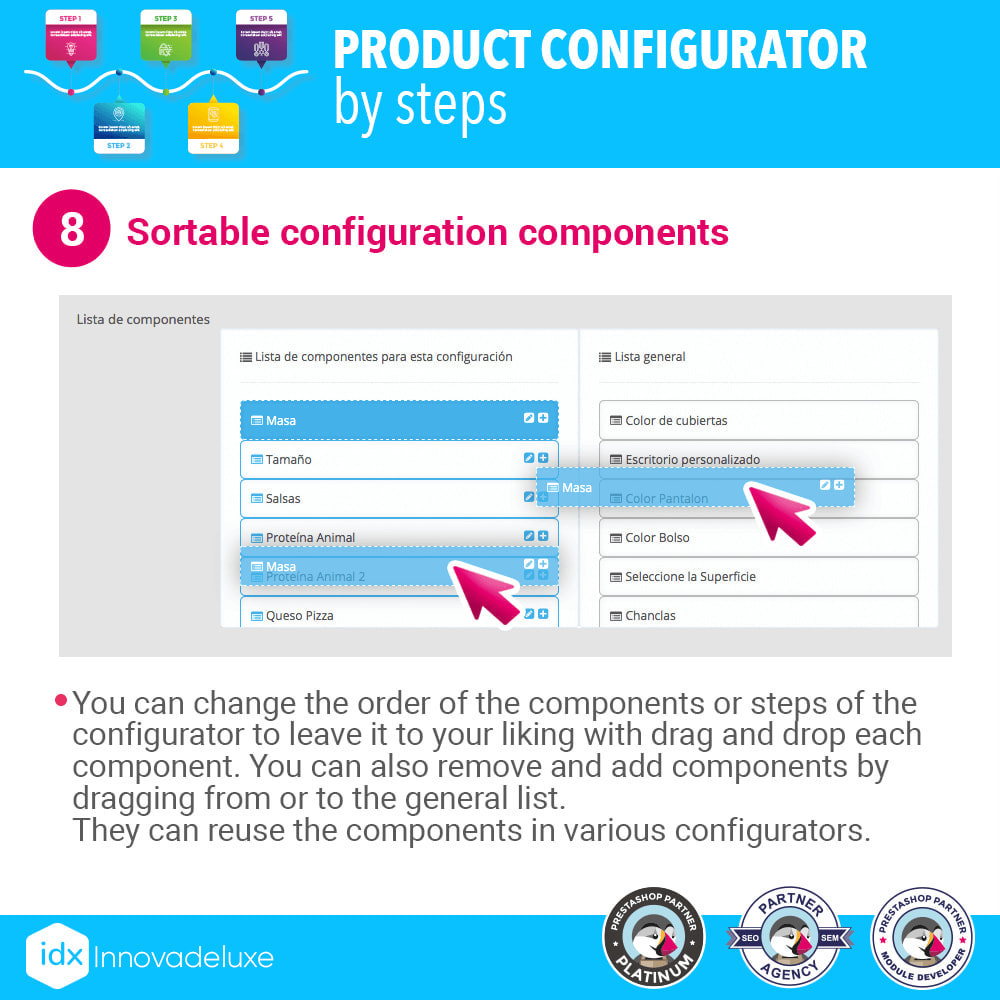 module - Combinations & Product Customization - Advanced product configurator by steps - 9