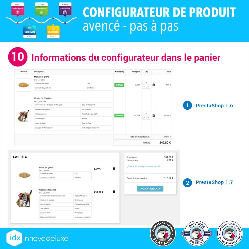module - Déclinaisons & Personnalisation de produits - Configurateur de produit avancé - pas à pas - 11
