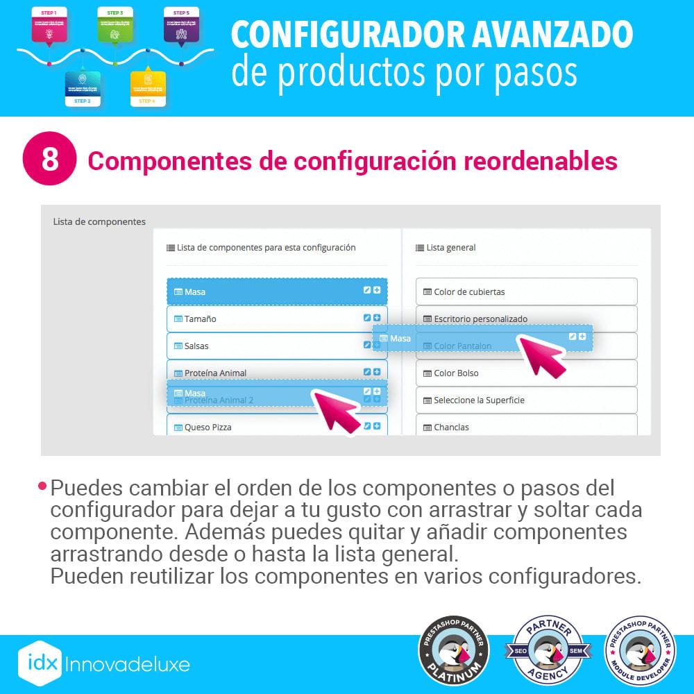 module - Combinaciones y Personalización de productos - Configurador avanzado de productos por pasos - 9