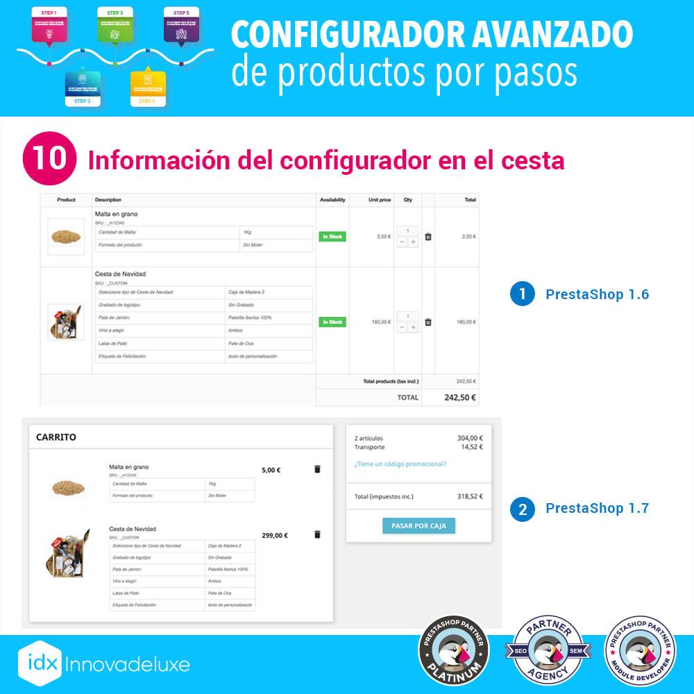 module - Combinaciones y Personalización de productos - Configurador avanzado de productos por pasos - 11