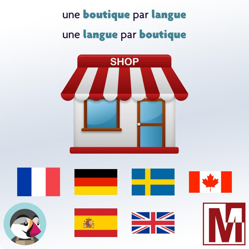 module - International & Localisation - Une boutique par langue, une langue par boutique - 1