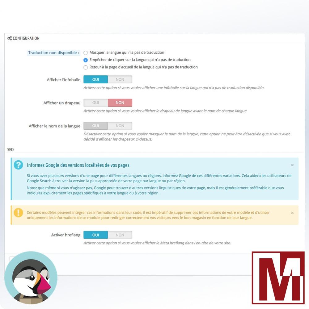module - International & Localisation - Une boutique par langue, une langue par boutique - 2