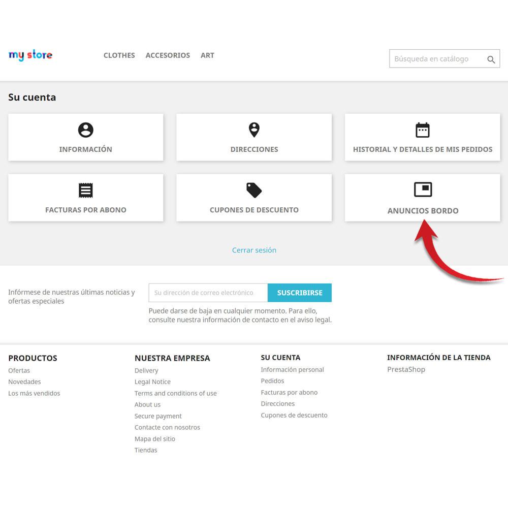 module - Creación de Marketplace - Tablón de anuncios para clientes - 2