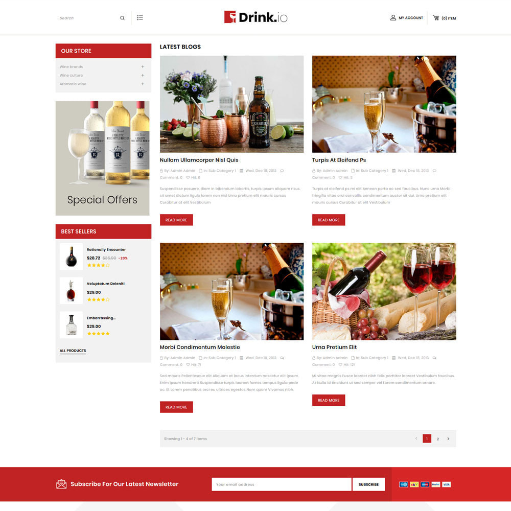theme - Drink & Tobacco - Drinkio - The Wine Store - 7
