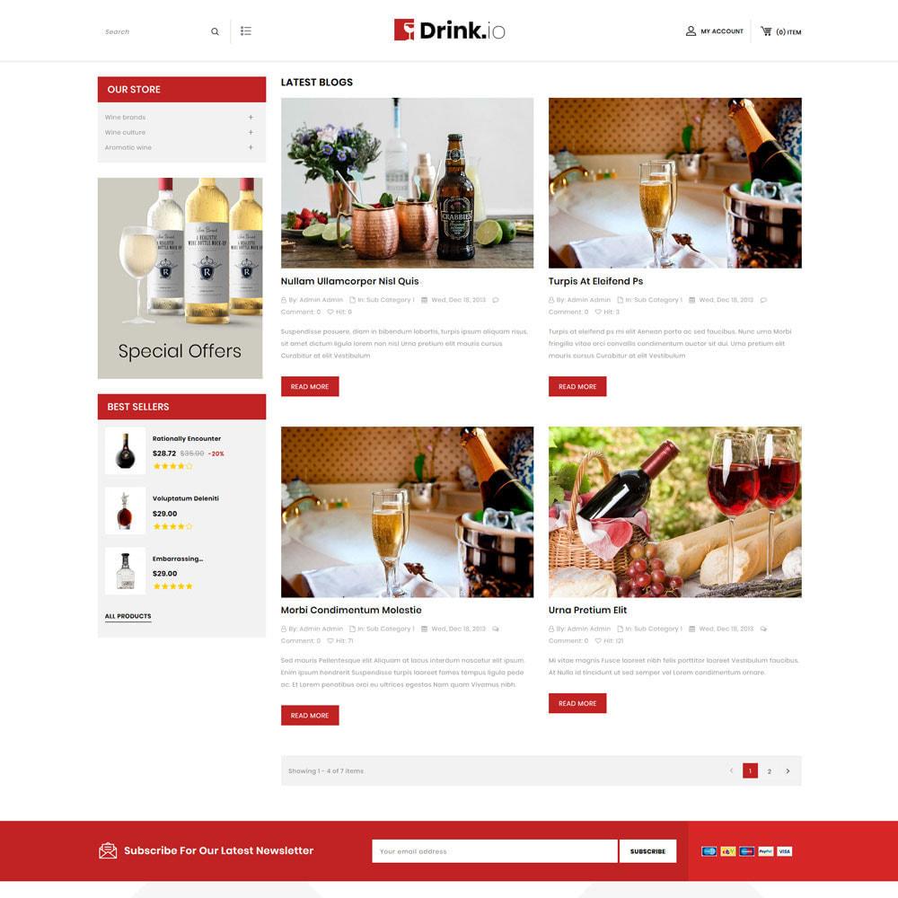 theme - Drink & Wine - Drinkio - The Wine Store - 7