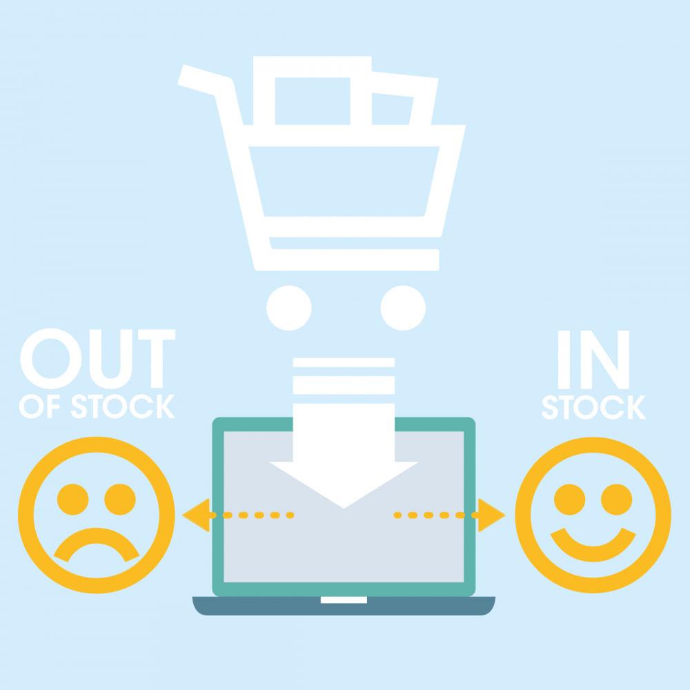 module - Information supplémentaire & Onglet produit - Réapprovisionnement: envoi produits en stock en premier - 1