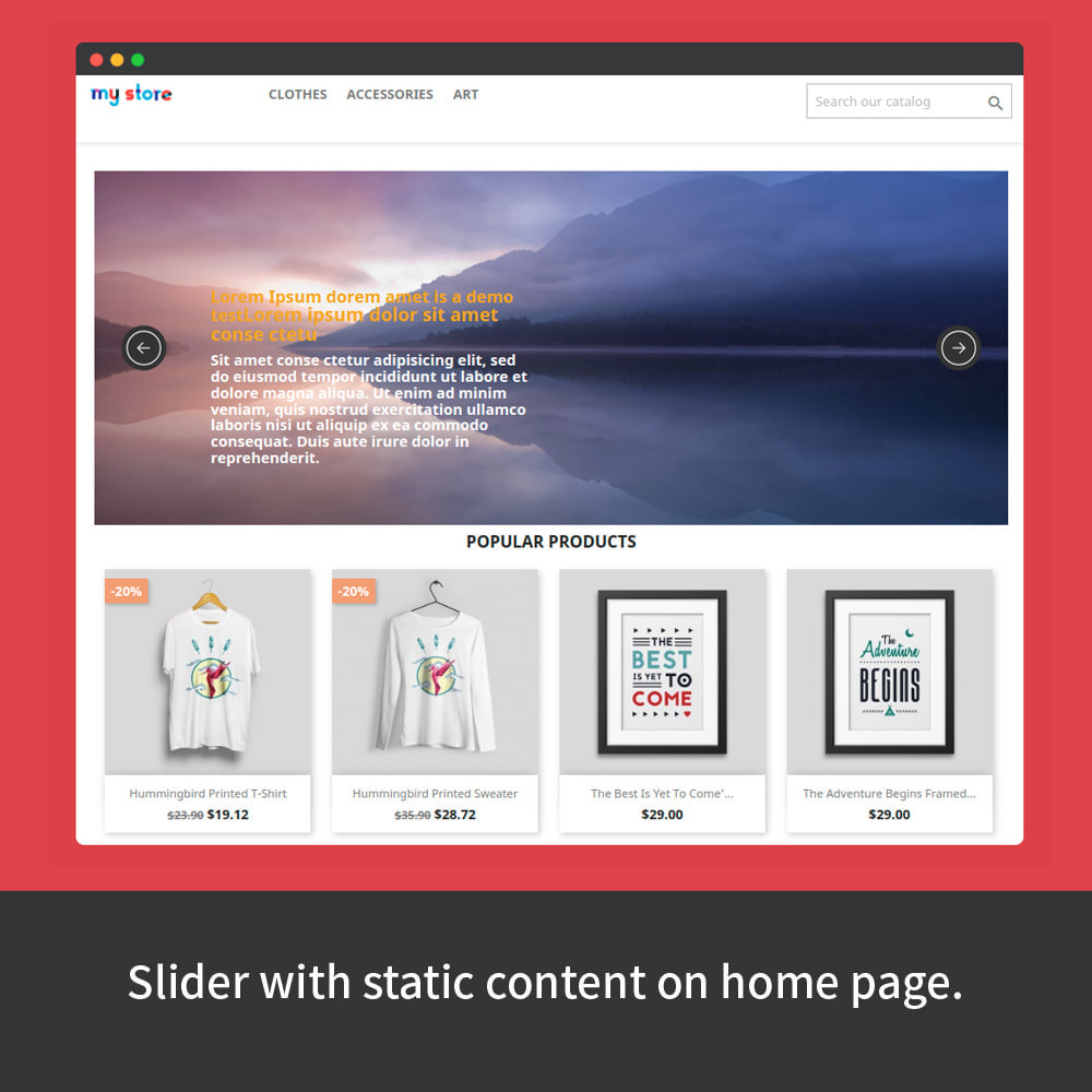 module - Sliders & Galleries - Content Slider - 2
