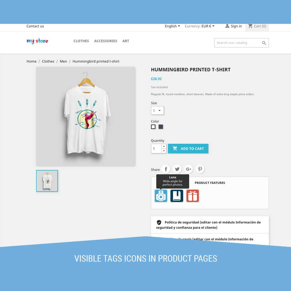 module - Badges & Logos - Icon Tags for products - 5