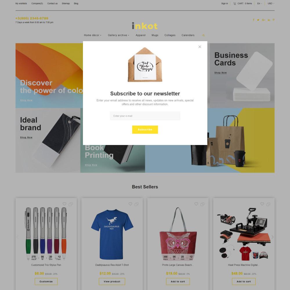 theme - Arte & Cultura - Inkot - Print Shop - 6