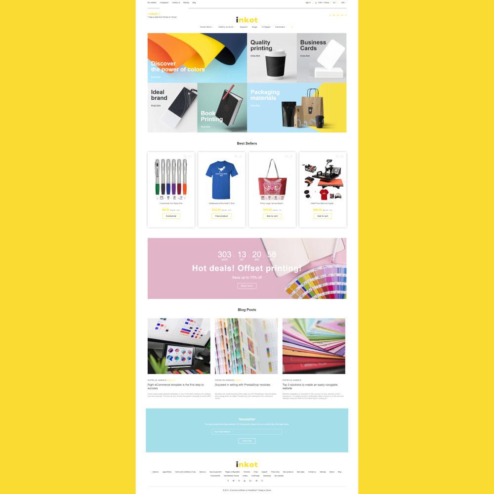 theme - Arte y Cultura - Inkot - Print Shop - 3