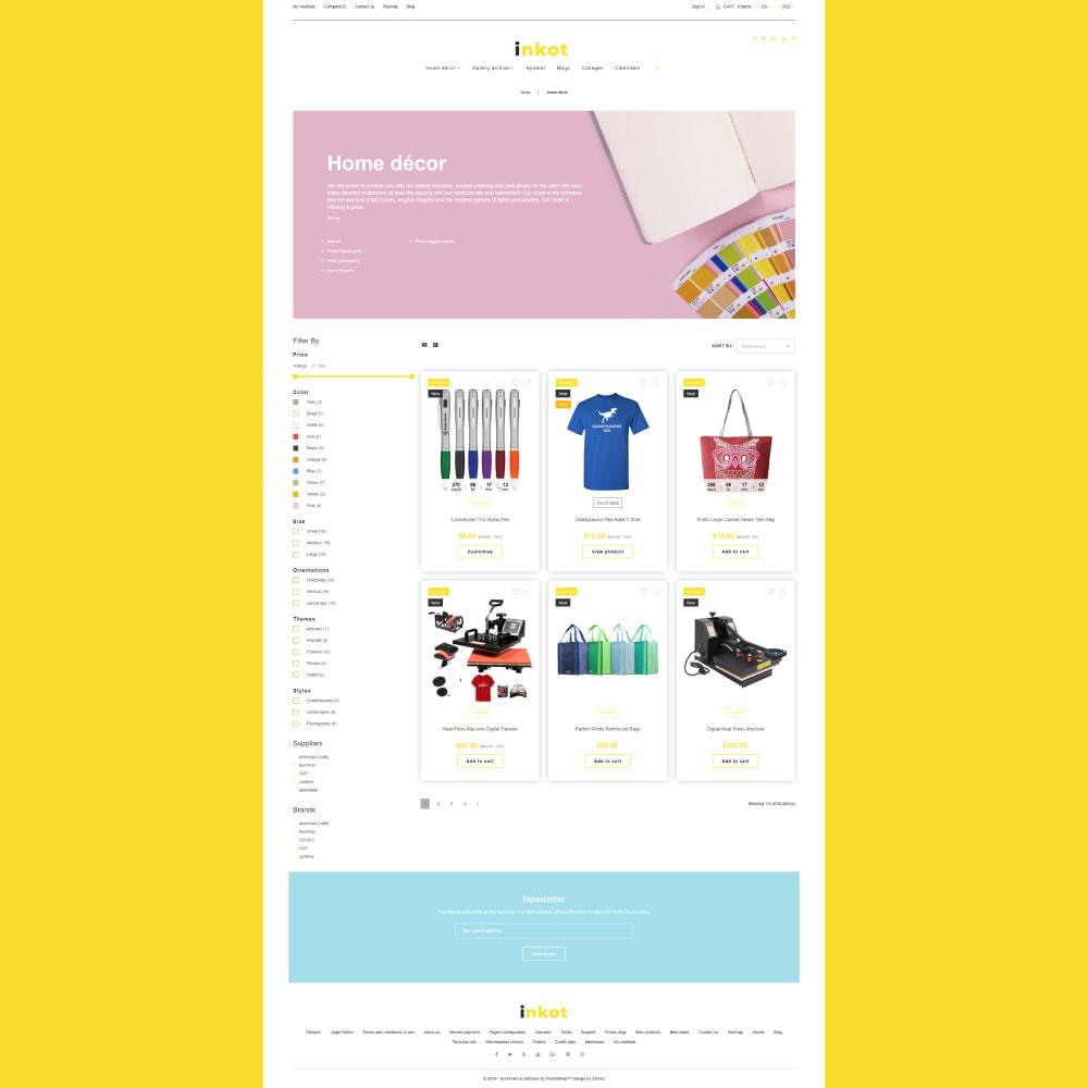 theme - Arte y Cultura - Inkot - Print Shop - 4
