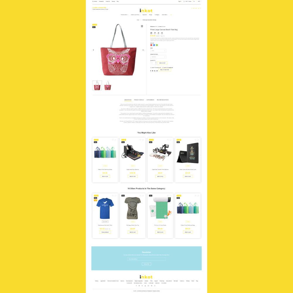 theme - Arte y Cultura - Inkot - Print Shop - 5