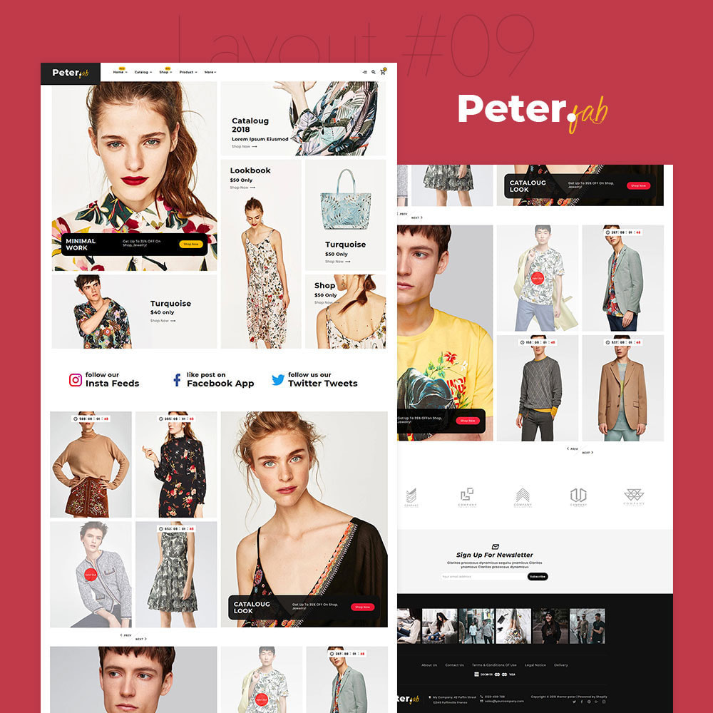 theme - Fashion & Shoes - Peter - Fashion Boutique For Creatives - 10