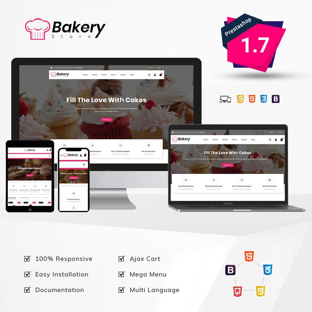 theme - Gastronomía y Restauración - The Bakery Store - 1