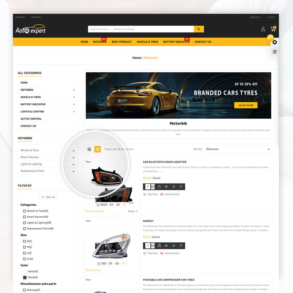 theme - Coches y Motos - AutoExport Autopart Shop - 4