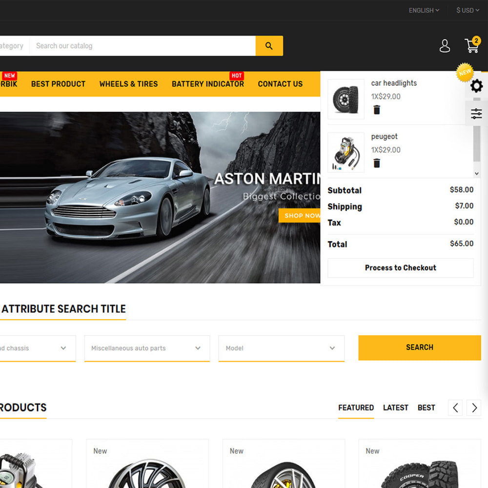 theme - Coches y Motos - AutoExport Autopart Shop - 7
