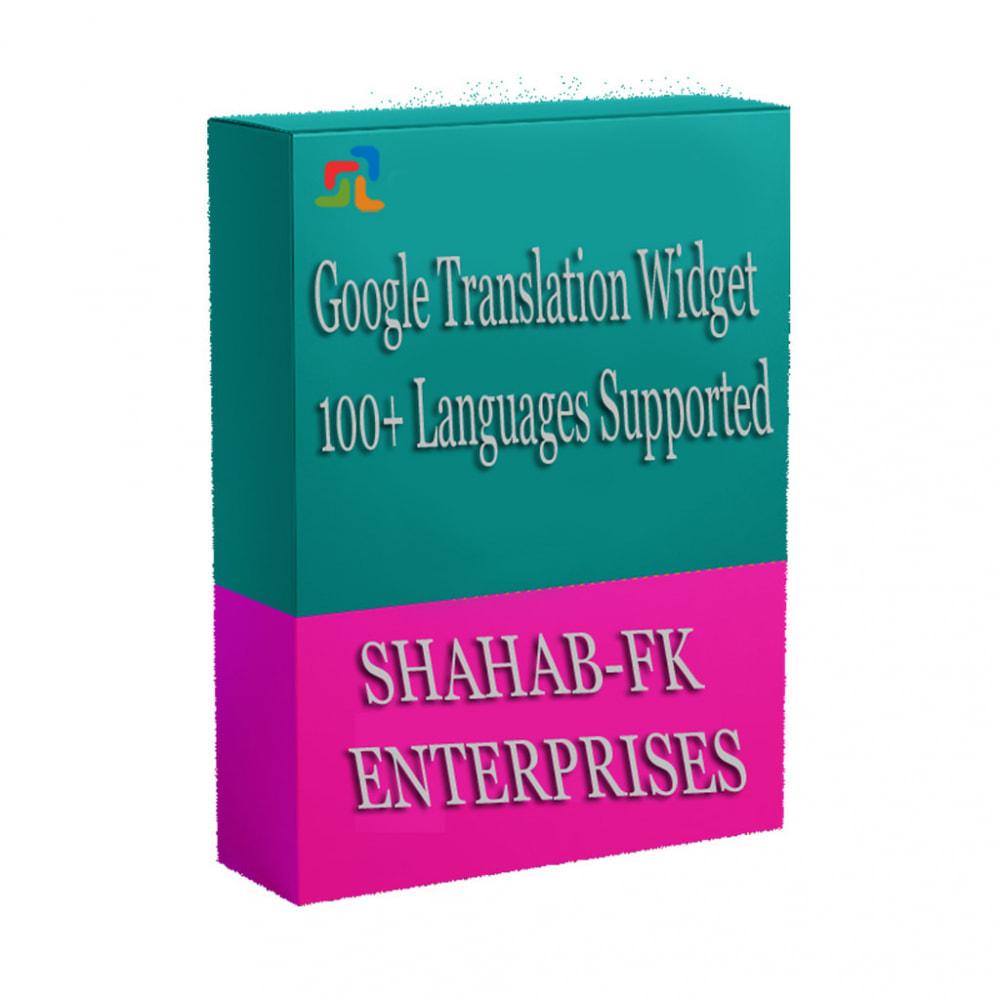 module - Internacional & Localização - Tradução do Google da loja em mais de 100 idiomas - 1