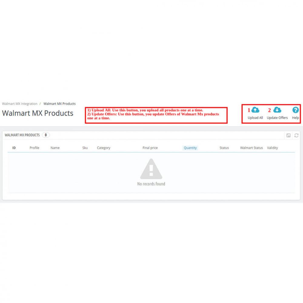 module - Datenabbindungen zu Drittsystemen (CRM, ERP, ...) - Walmart Mexico Integration - 11