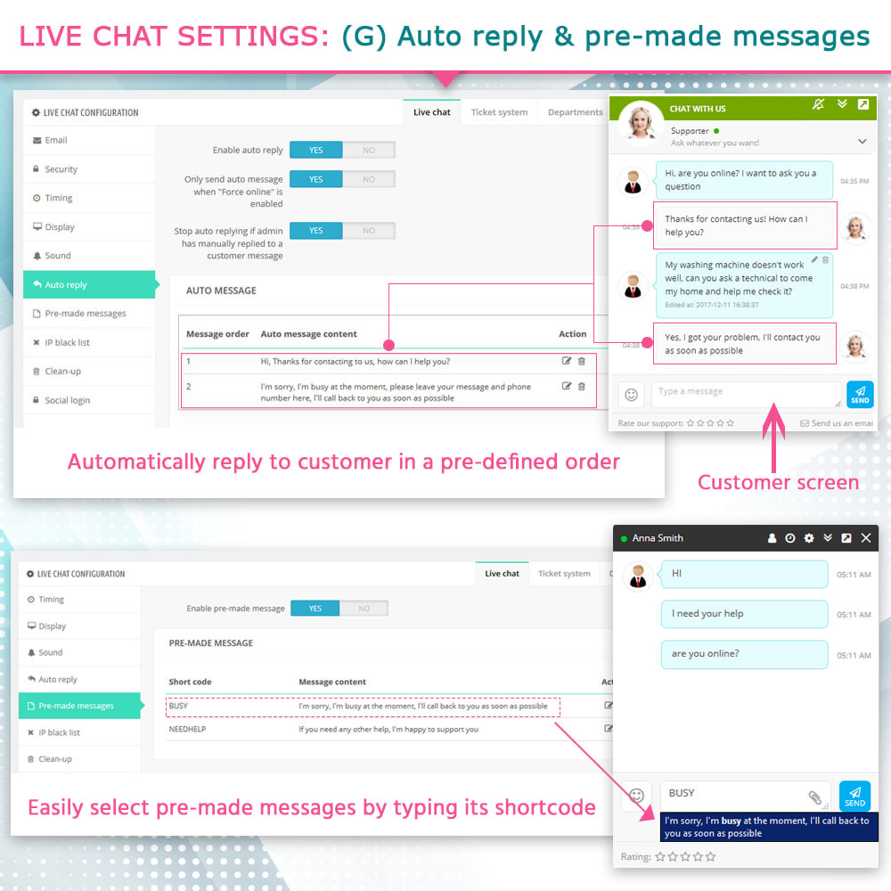 module - Ondersteuning & Online chat - Live Chat and Ticketing System - 10