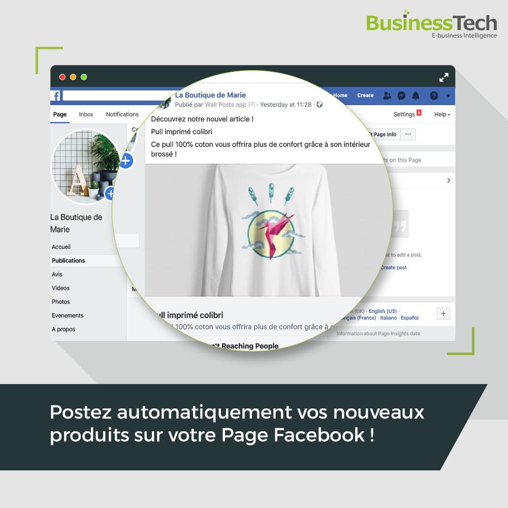 module - Produits sur Facebook & réseaux sociaux - Wall Posts - 1