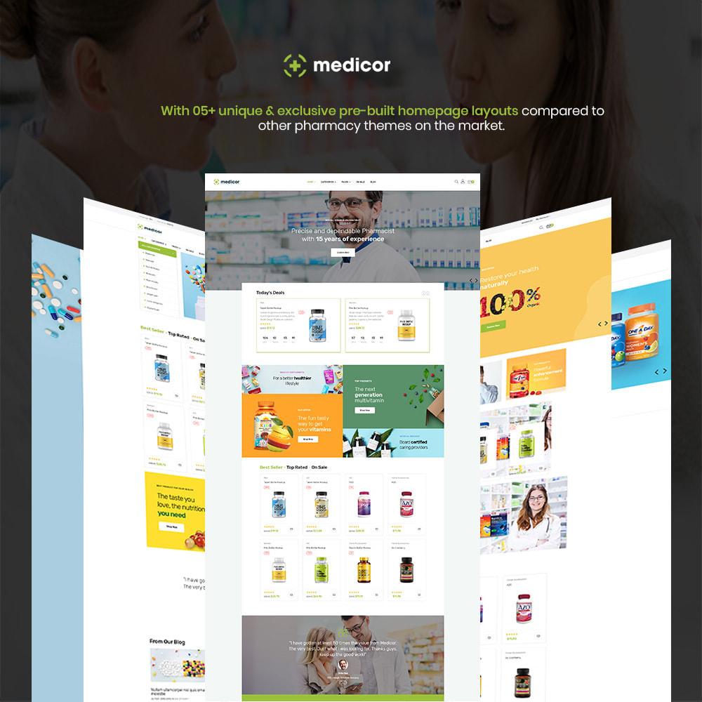 theme - Salud y Belleza - Medicor - Perfect Pharmacy Store - 1