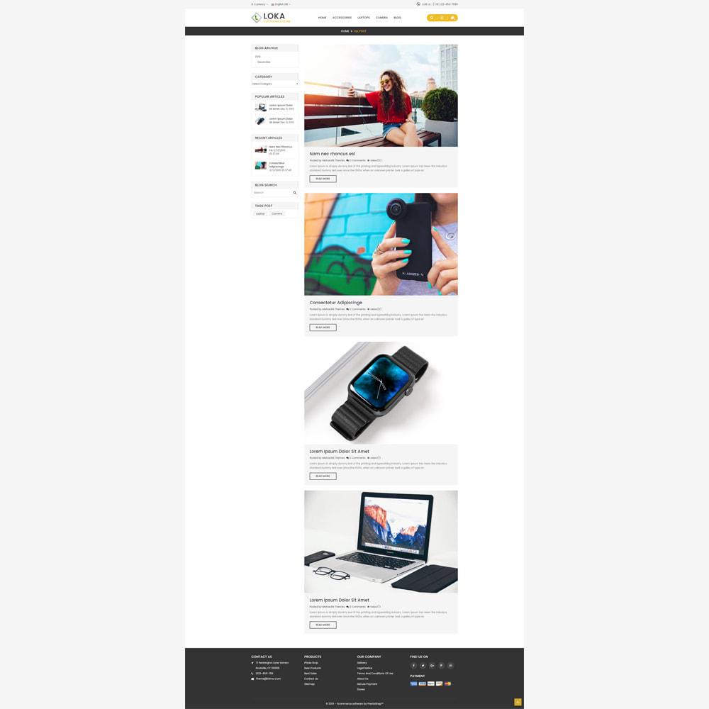 theme - Electronics & Computers - Loka Electronic Store - 5