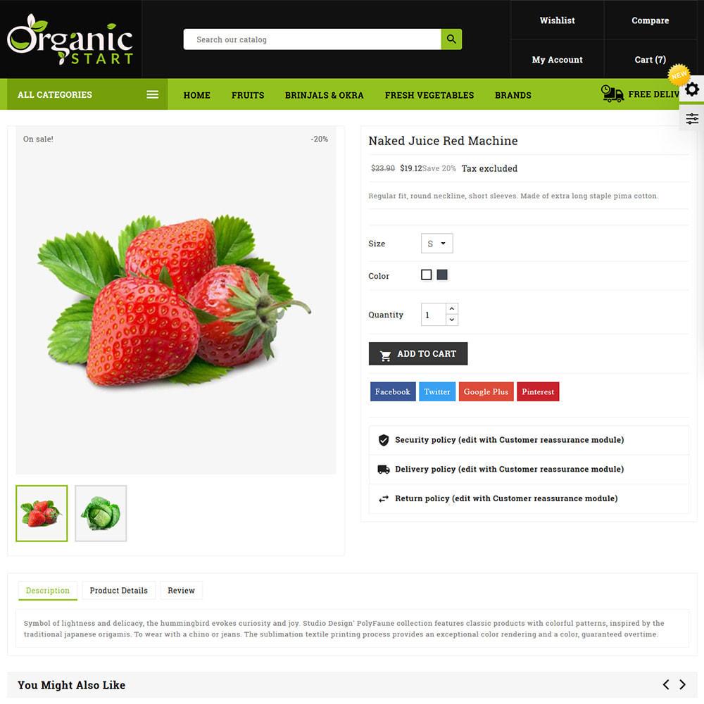 theme - Prezenty, Kwiaty & Uroczystości - Organic Store - 6