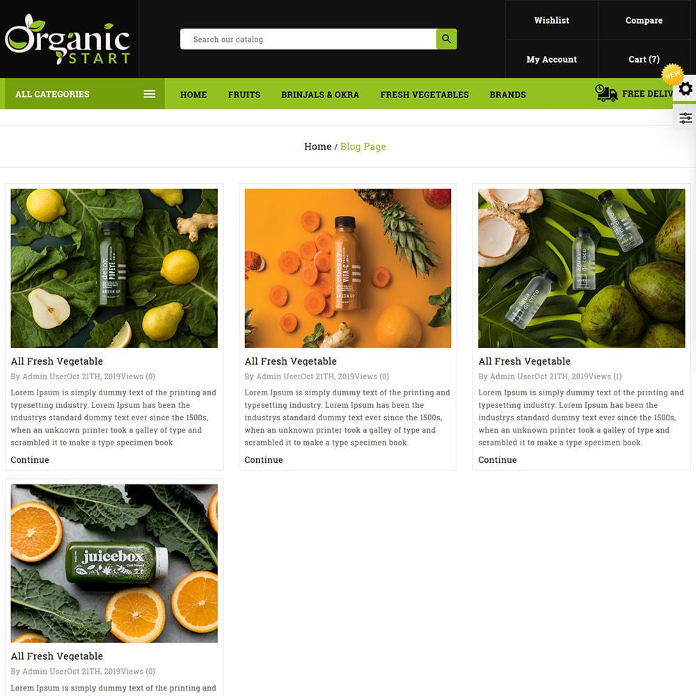 theme - Prezenty, Kwiaty & Uroczystości - Organic Store - 8