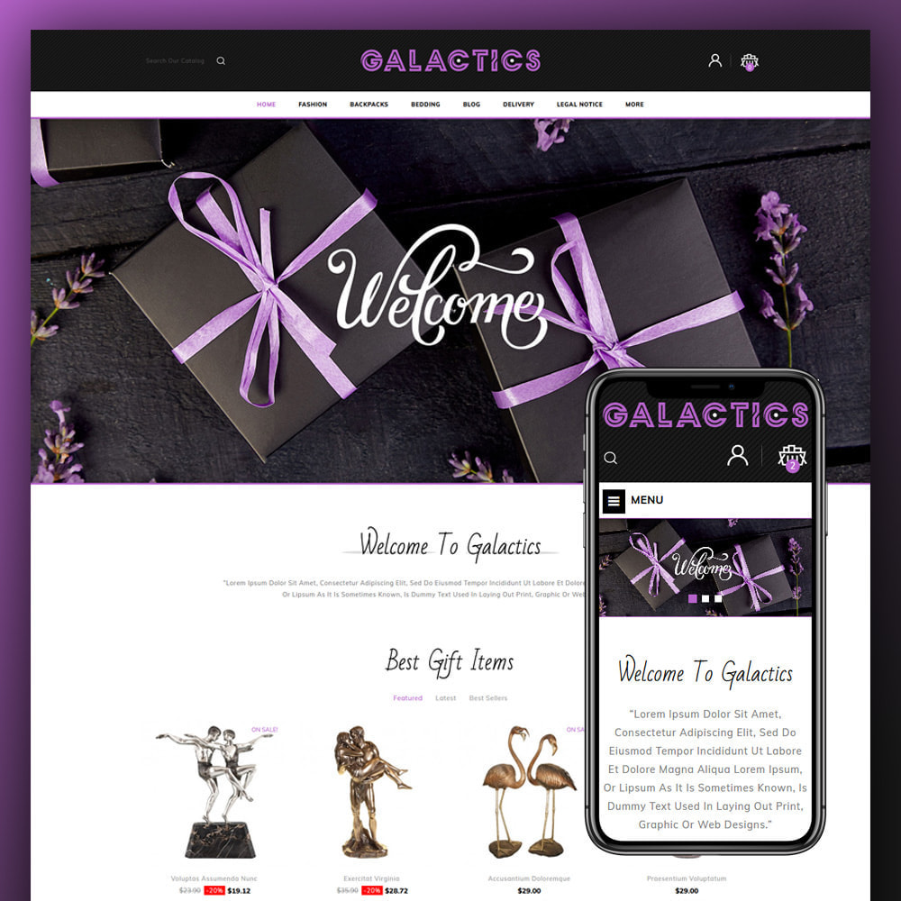 theme - Gifts, Flowers & Celebrations - Galactics -Gift Store - 1