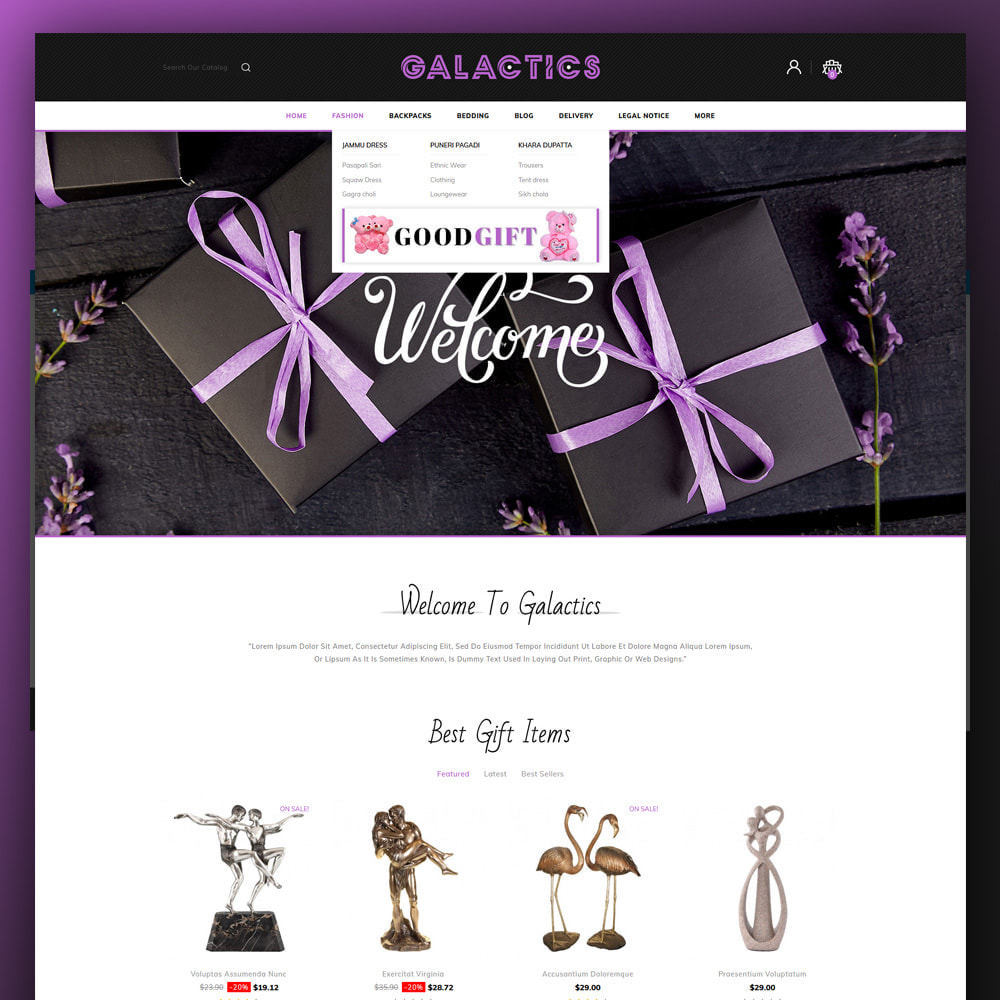 theme - Gifts, Flowers & Celebrations - Galactics -Gift Store - 2