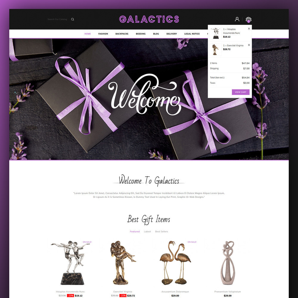 theme - Gifts, Flowers & Celebrations - Galactics -Gift Store - 3