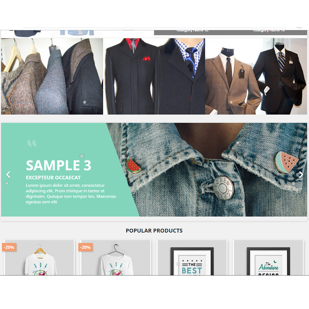module - Page Customization - Snowflakes - 3