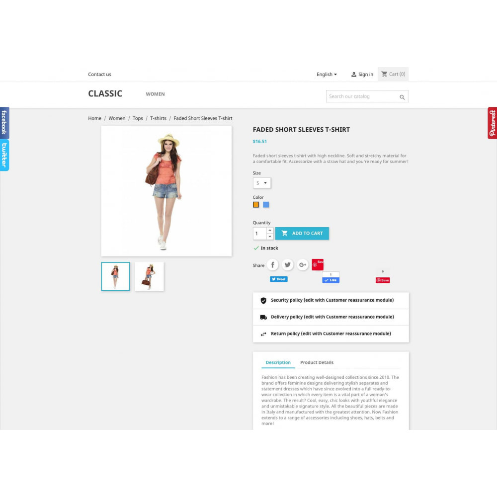 module - Social Widget - Social Widgets + Buttons 3 in 1 - 5