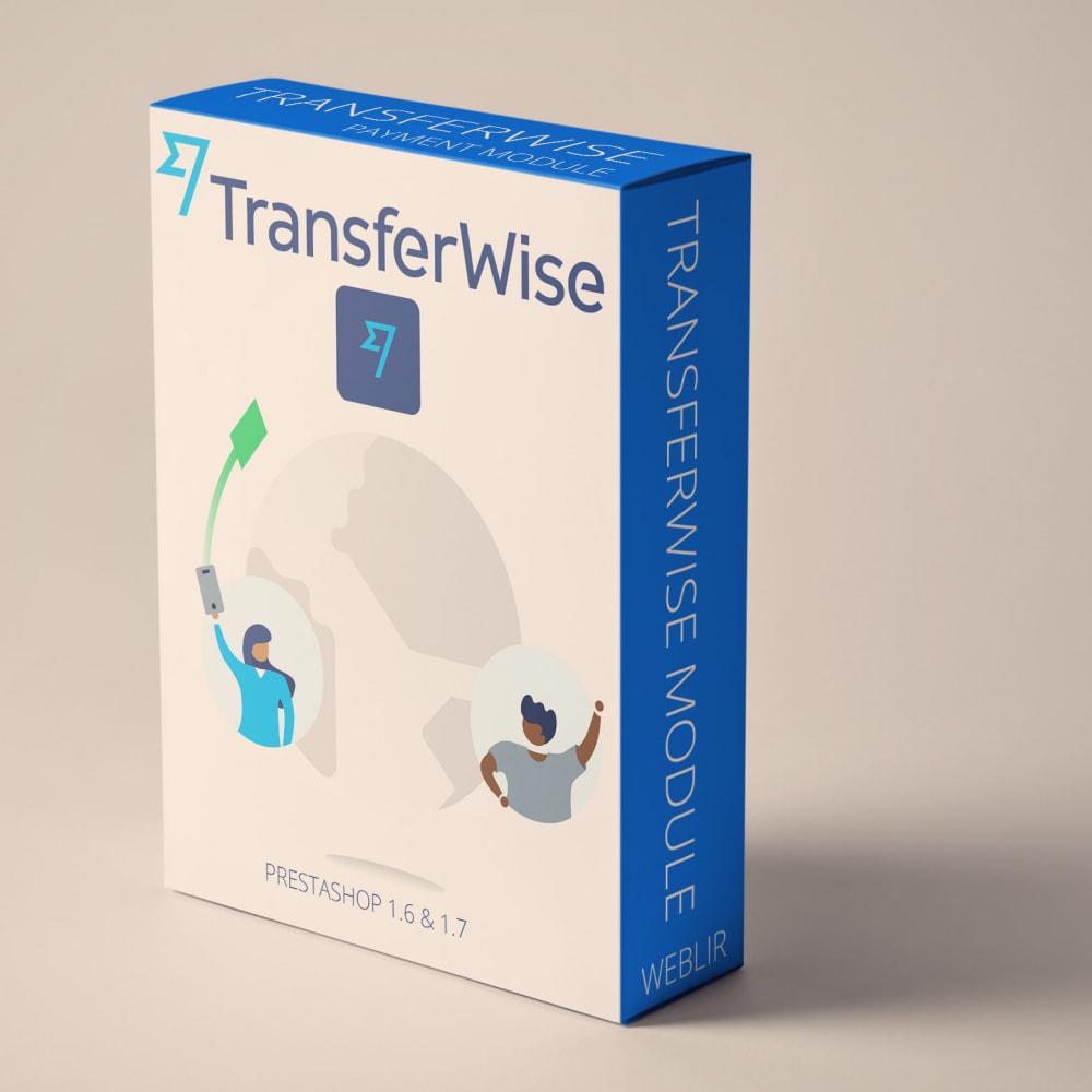 module - Creditcardbetaling of Walletbetaling - Transferwise betalinger lite - 1