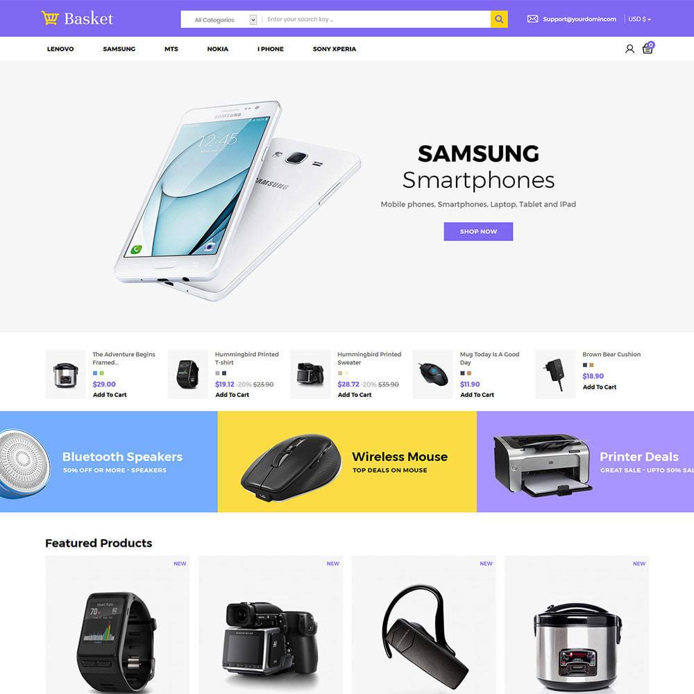 theme - Electronics & Computers - Basket Electronics - Mobile Digital  Laptop Store - 2