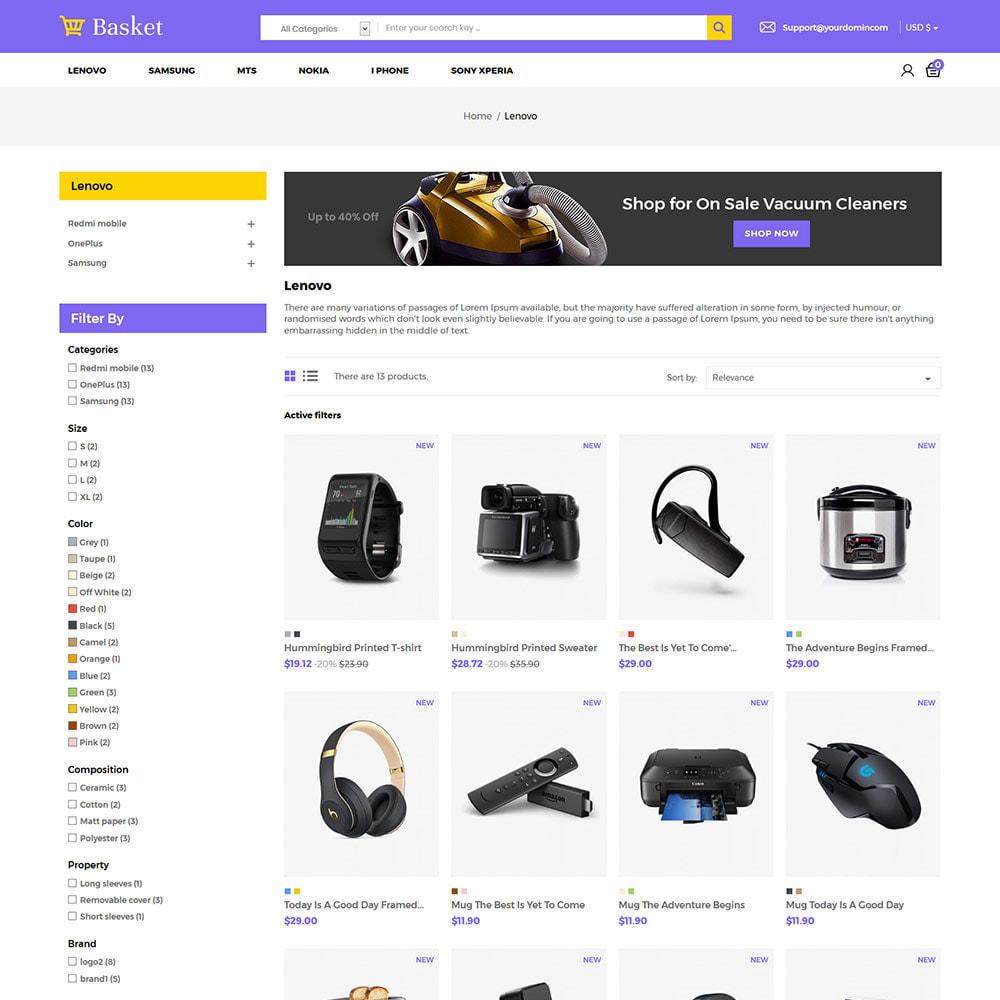 theme - Electronics & Computers - Basket Electronics - Mobile Digital  Laptop Store - 3