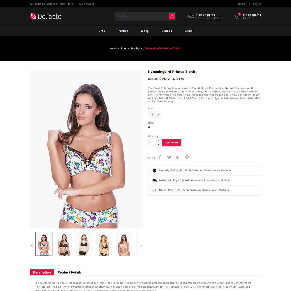theme - Lingerie & Adult - Lingerie Underwear - Sleepwear Bra  Panties Store - 5