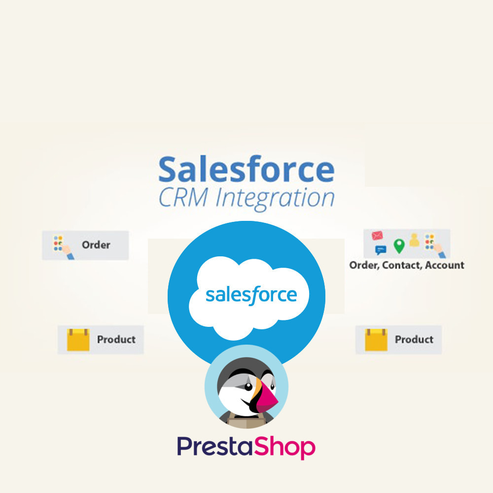 module - Third-party Data Integration (CRM, ERP...) - Fast Salesforce CRM Integration - 1