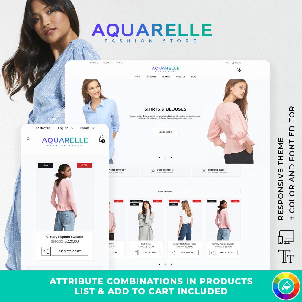 theme - Mode & Chaussures - Aquarelle Fashion Store - 1
