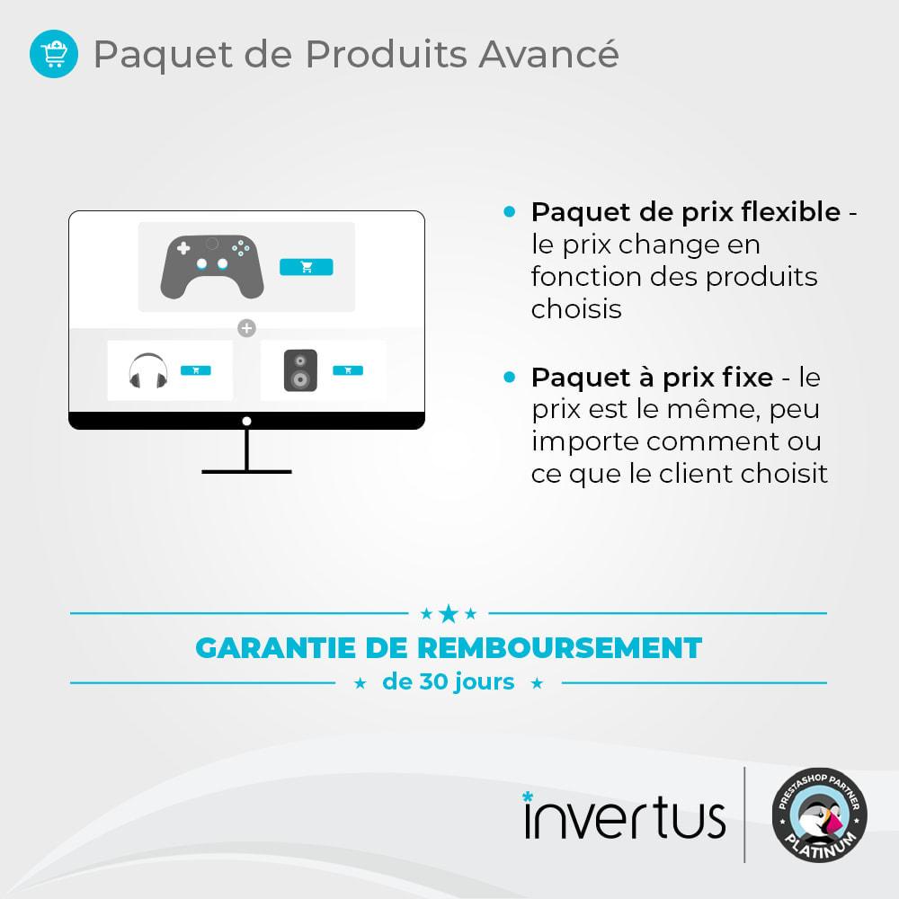 module - Ventes croisées & Packs de produits - Paquet de produits avancé - 2