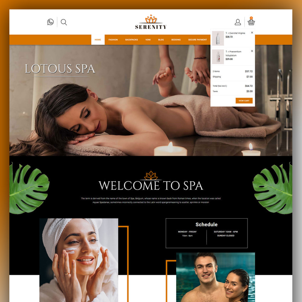 theme - Health & Beauty - Serenity - Spa Store - 3
