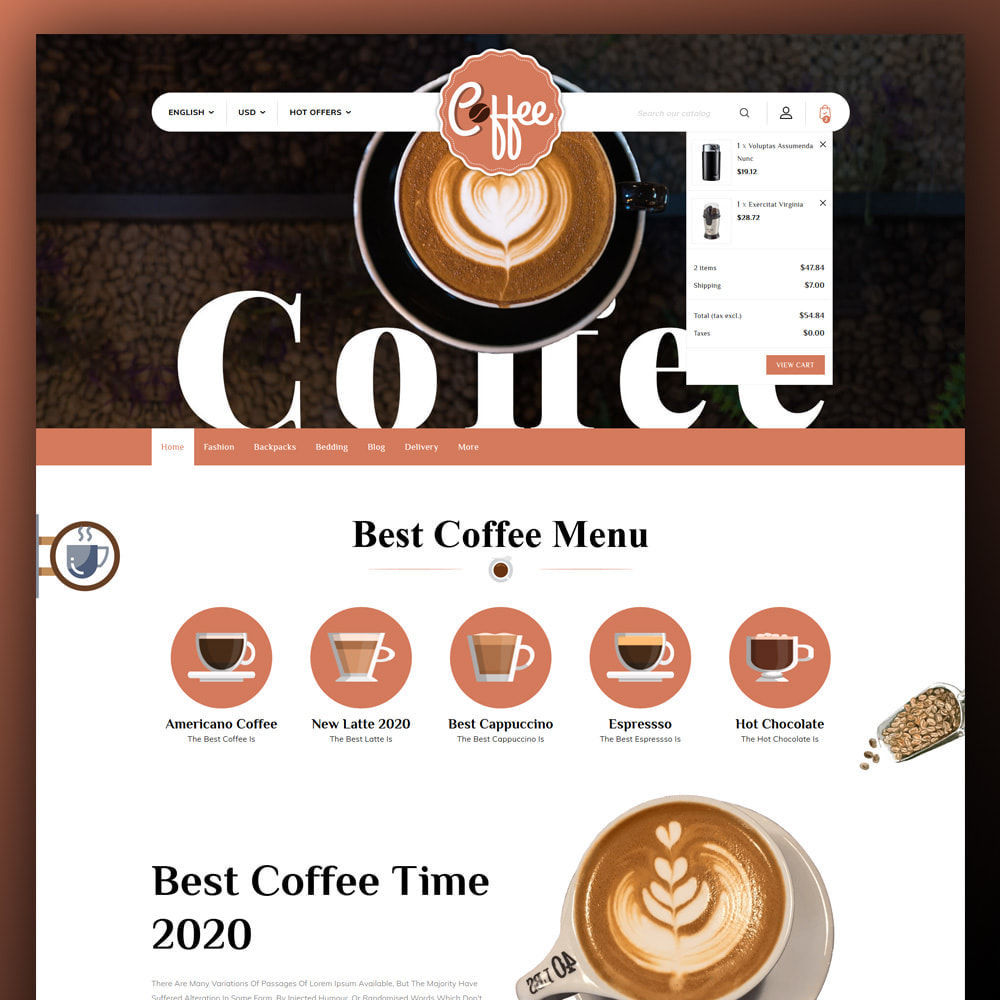 theme - Food & Restaurant - Coffee Shop - 3
