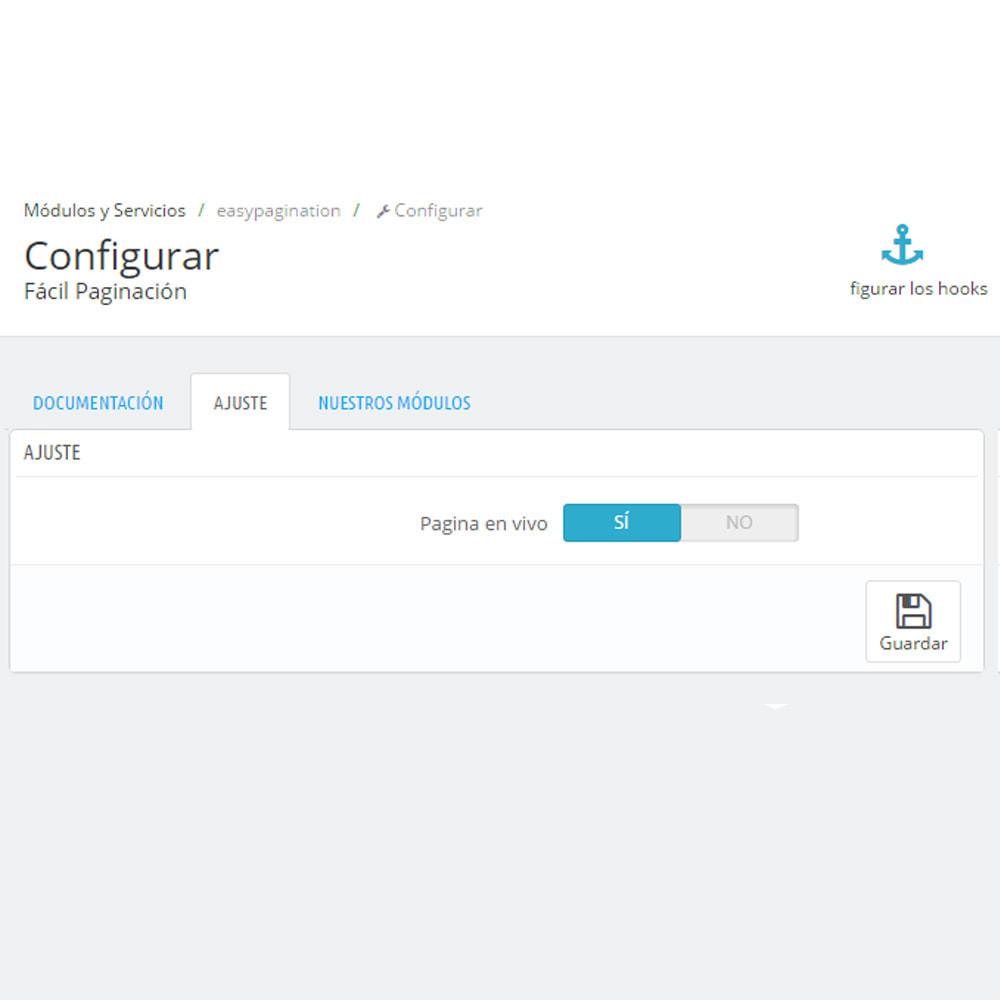 module - Herramientas de navegación - Paginador de una página - 4